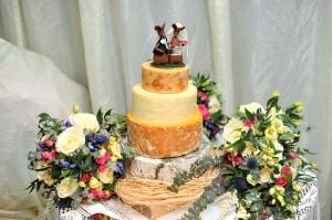 wedding cheese cake VII
